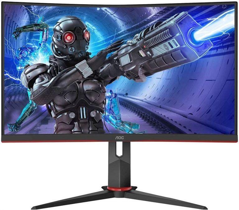 AOC C27G2ZUBK är en riktigt snabb och följsam gamingskärm som passar perfekt för snabba FPS-spel som CS, Valorant eller COD. Vårt val av bästa gamingskärm i FHD 2021.