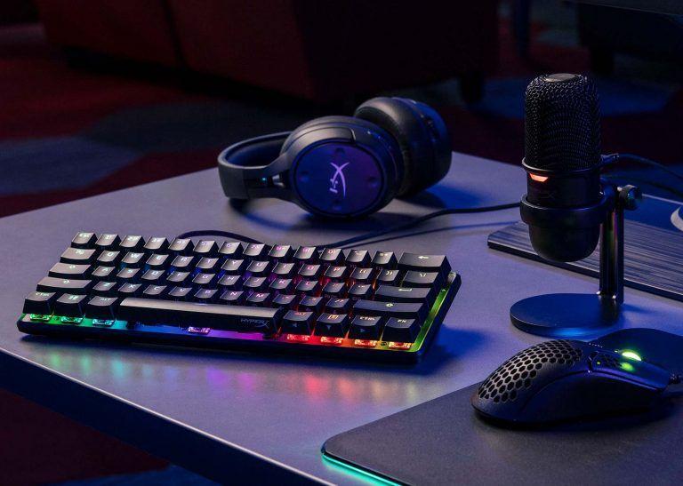HyperX Alloy Origins 60 är det bästa tangentbordet för gaming i storleken mini 2021. Välbyggt, funktionellt och prisvärt.