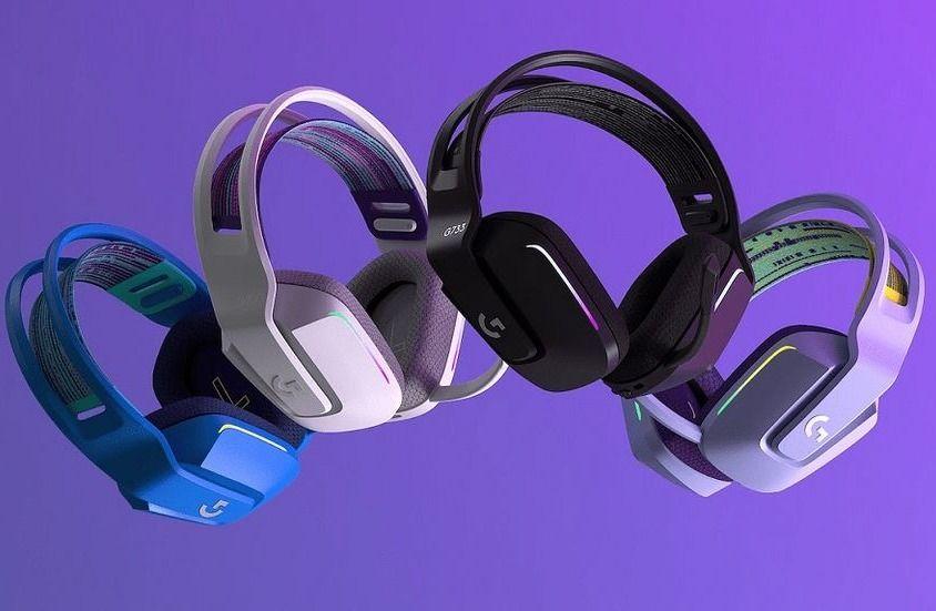 De häftiga och fina hörlurarna Logitech G733 Lightspeed. Prisvärda och ljudmässigt riktigt bra. Vårt val av bästa gamingheadset i mellanklass 2021.