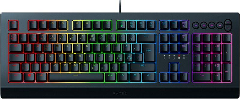 För den som letar efter ett tyst gamingtangentbord är Razer Cynosa Chroma V2 det perfekt valet. Prisvärt, tåligt och stör inte omgivningen.