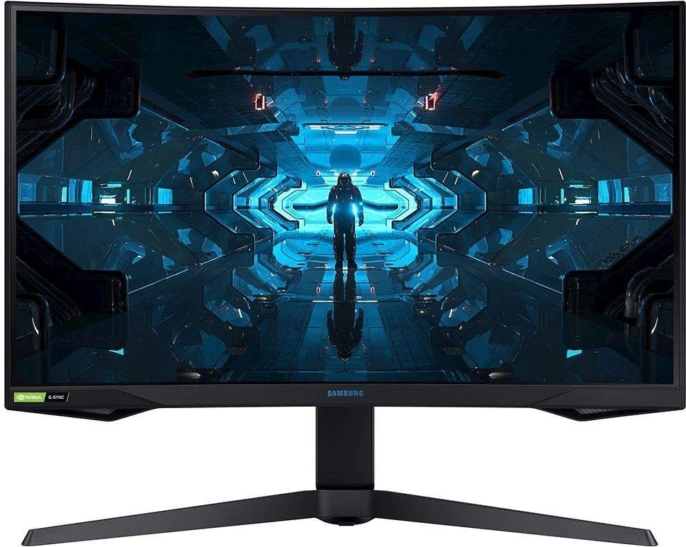 Samsung Odyssey G7 är vårt val av bästa gamingskärm med vävd skärm (curved) 2021. En fantastisk datorskärm för gaming som har låg responstid, och knivskarp bild.