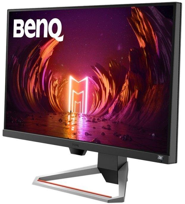 Sidobild på bildskärmen BenQ Mobiuz EX2710 som är framtagen för gaming. Bäst i test av gamingskärmar för konsoler som PS4, PS5, Xbox One och Xbox Series X.