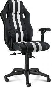Mission SG Fenrir är en billig och prisvärd gamingstol som lämpar sig för de som söker sin första riktiga spelstol. Under 1000 kr dessutom, ett riktigt kap. Vårt val av bästa billiga gamingstol 2021.