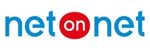 NetOnNets logga, en butik där man kan köpa gamingutrustning både online och i butik. Erbjuder ett stort utbud inom gaming och en massa andra produktkategorier.