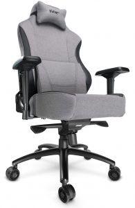 Svive Gemini är en riktigt bra och bekväm spelstol med en klädsel av tyg för maximal komfort. En av de bästa gamingstolarna 2021.