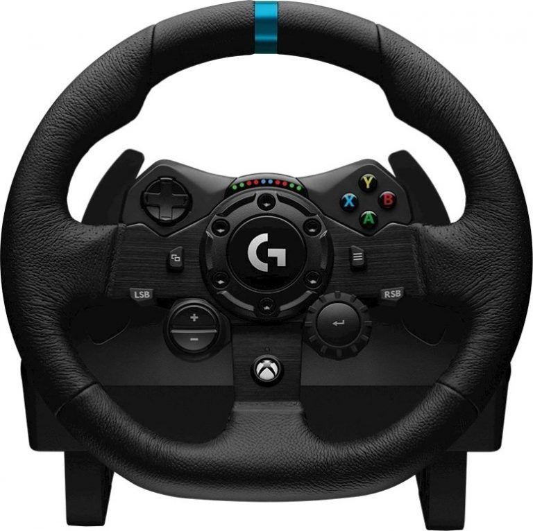 Gamingratten Logitech G923 är en av de bästa rattarna att spela på 2021.
