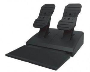 Exempel på pedaler av plast till gamingratt.