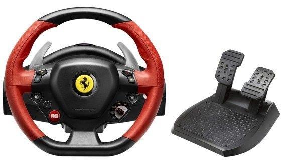 Thrustmaster Ferrari 458 Spider Racing Wheel är en billig gamingratt för box och bästa budgetmodellen 2021. Snygg, häftig och cool.