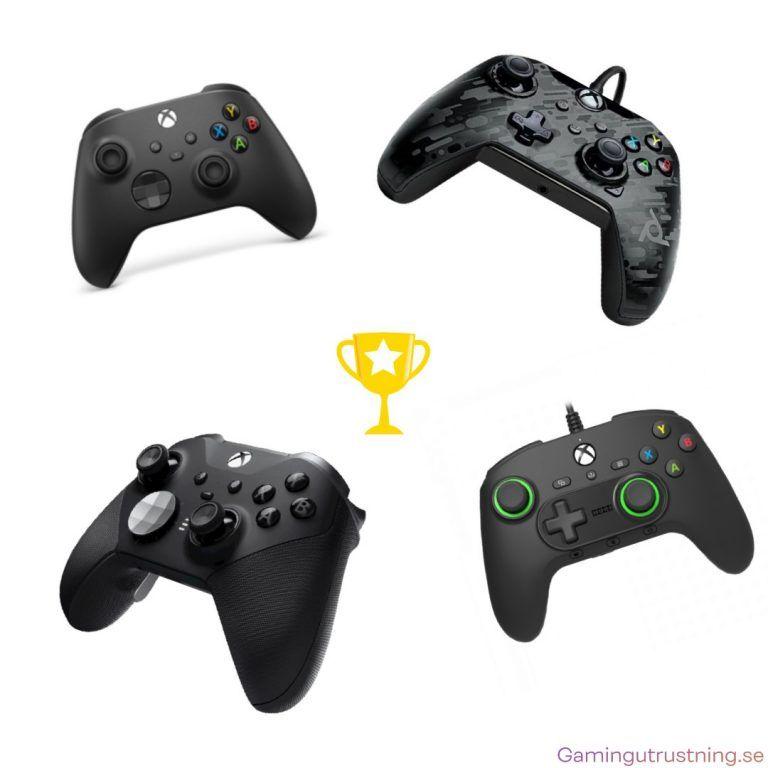 De fyra bästa handkontrollerna för Xbox 2021. alltifrån billiga till avancerad premium handkontroll.