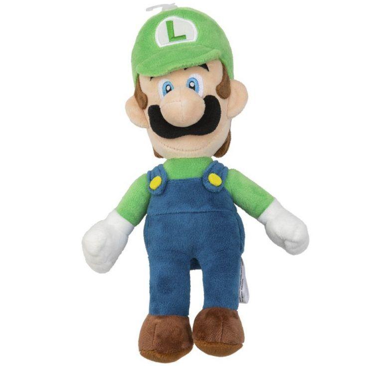 Luigi gosedjur är en trevlig inredningsdetalj i ett gamingrum. Finns även till tröst när det går dåligt i ett game.