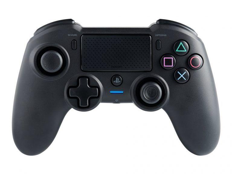 Nacon Asymmetric är bästa kontrollen för PS4. Välbalanserad och skön att använda med ett större grepp än originalet.