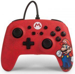 PowerA Wired Controller Switch är en handkontroll med sladd till Switch och finns i flera olika designer så som Maria, Donkey Kong, Pikachu, Link och Crash Bandicoot. Bästa kabelbunda handkontroll till Nintendo 2021.
