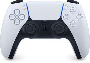 Kontrollen Sony DualSense Controller som vi har utsett till bästa handkontrollen för PS5 2021. Bekväm och med flera bra funktioner.