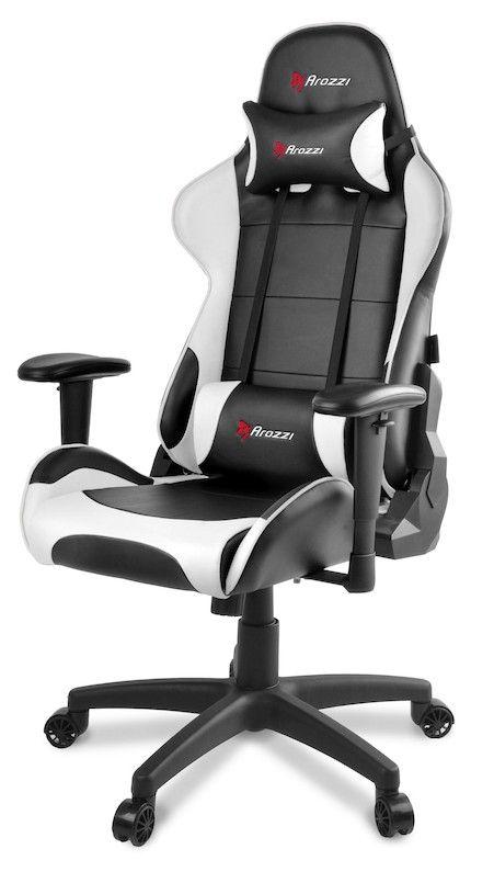 Arozzi Verona V2 Vit är en snygg och bekväm gamingstol som gör att gamern sitter ergonomiskt och bra när denne spelar. Bra julklapp att ge till någon som behöver sitta bättre!