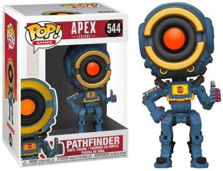 Funko POP! Pathfinder från spelet Apex Legends är en cool samlarfigur som är en perfekt julklapp till någon som älskar gaming, oavsett om det är pojkvän, sambo, lillebror, storebror, man, mamma, pappa.