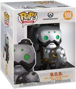 Funko POP! Overwatch B.O.B. är ett julklapptips till en gamer. Kul att ge bort till henne, honom eller barn under julafton.
