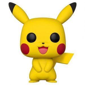 Pikachu som Funko POP! samlarfigur. Det här är ett starkt tips på present och julklapp för någon som gillar gaming och pokemon.