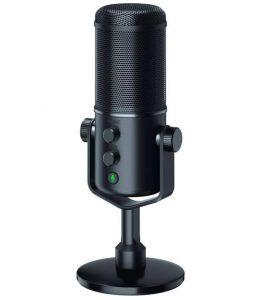 Razer Seirēn Elite Mikrofon är en mic för streaming som är ett måste i en gamingsetup för streamers.