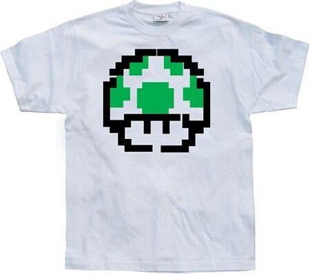 T-shirts med gamingmotiv är roliga julklappar och presenter.