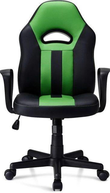 Spelstolen Mission SG Ymir V2 framifrån, en stol för barn som vill ha sin första gamingstol.